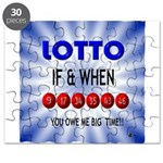 winning lotto numbers Puzzle