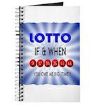 winning lotto numbers Journal