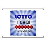 winning lotto numbers Banner