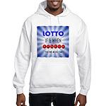 winning lotto numbers Hoodie