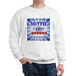 winning lotto numbers Sweatshirt