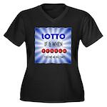 winning lotto numbers Plus Size T-Shirt