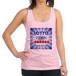 winning lotto numbers Racerback Tank Top