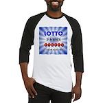 winning lotto numbers Baseball Jersey