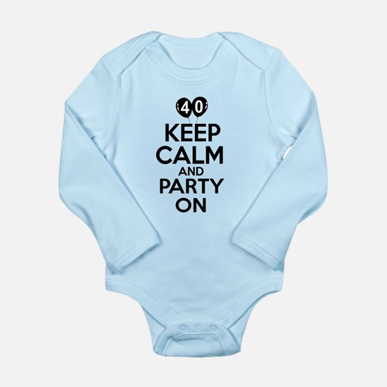 Funny 40 year old gift ideas Long Sleeve Infant Bo