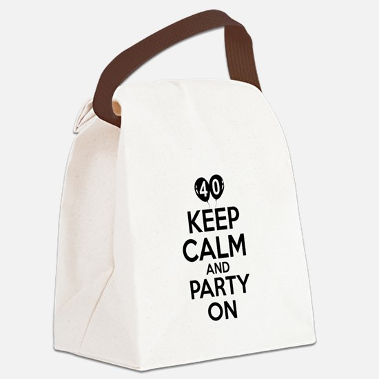 Funny 40 year old gift ideas Canvas Lunch Bag