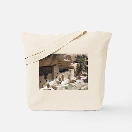 Mesa Verde Indian Cliff Dwellings Tote Bag