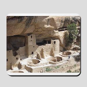 Mesa Verde Indian Cliff Dwellings Mousepad