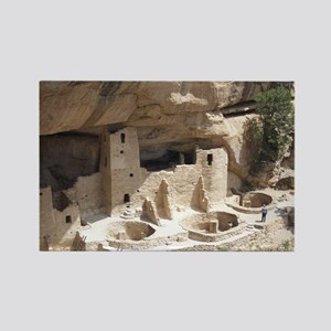 Mesa Verde Indian Cliff Dwellings Rectangle Magnet