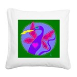 dragonsong Square Canvas Pillow