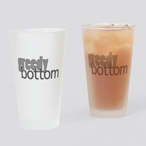 Greedy Bottom Drinking Glass