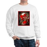 Viburnum Berries Covered with Ice Sweatshirt