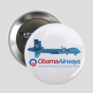 """Obama Airways 2.25"""" Button"""