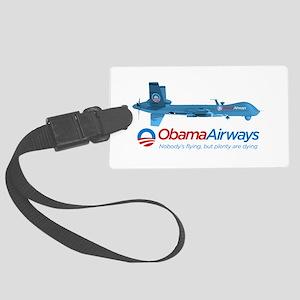 Obama Airways Luggage Tag
