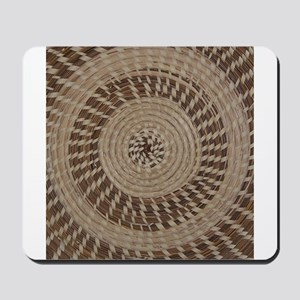 Sweetgrass Basket Design Mousepad
