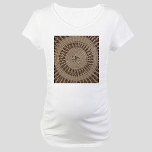 Sweetgrass Basket Design Maternity T-Shirt