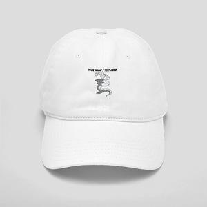 Custom Tornado Mascot Baseball Cap