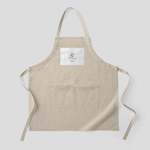 Tiger Kanji  BBQ Apron