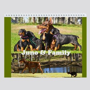 Doberman Puppies With Their Mom