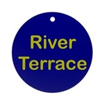 River Terrace Ornament (Round)