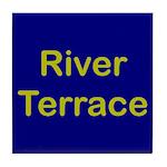River Terrace Tile Coaster