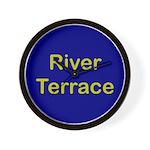 River Terrace Wall Clock