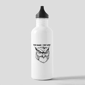 Custom Owl Water Bottle