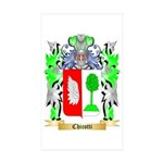 Chicotti Sticker (Rectangle 50 pk)