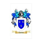 Chickin Sticker (Rectangle 50 pk)