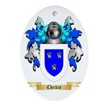 Chickin Ornament (Oval)