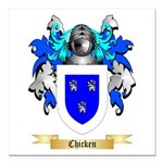 Chicken Square Car Magnet 3