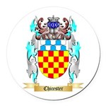 Chicester Round Car Magnet
