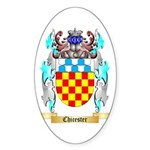 Chicester Sticker (Oval 10 pk)