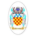 Chicester Sticker (Oval 50 pk)