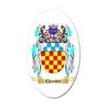 Chicester 20x12 Oval Wall Decal