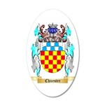 Chicester 35x21 Oval Wall Decal