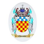 Chicester Ornament (Oval)