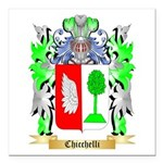 Chicchelli Square Car Magnet 3