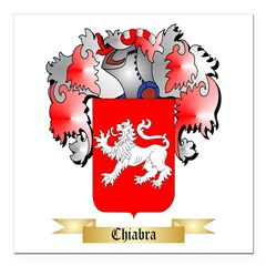 Chiabra Square Car Magnet 3