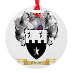 Chezier Round Ornament