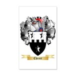Chezier 35x21 Wall Decal