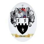 Chezier Ornament (Oval)