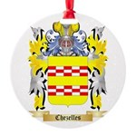 Chezelles Round Ornament