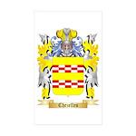 Chezelles Sticker (Rectangle 10 pk)