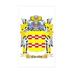 Chezelles Sticker (Rectangle 50 pk)