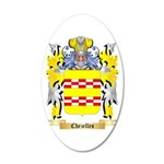 Chezelles 20x12 Oval Wall Decal