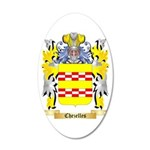 Chezelles 35x21 Oval Wall Decal