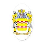 Chezelle Oval Car Magnet