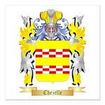 Chezelle Square Car Magnet 3