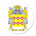 Chezelle Round Car Magnet